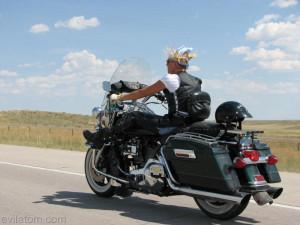 WY - Woman Biker