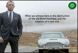 ... james bond says his hobby is resurrection like many times in the bond