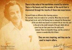 Science and Wonder - Richard Feynman by rationalhub