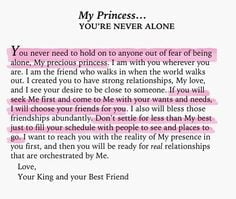 Am Proud Of My Daughter Quotes My princess you'e never alone.
