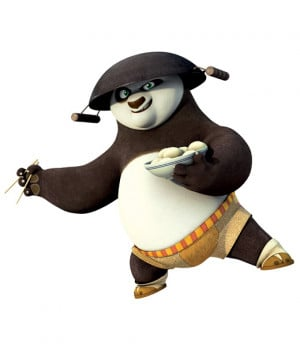 Po from Kung Fu Panda: Legends of Awesomeness :