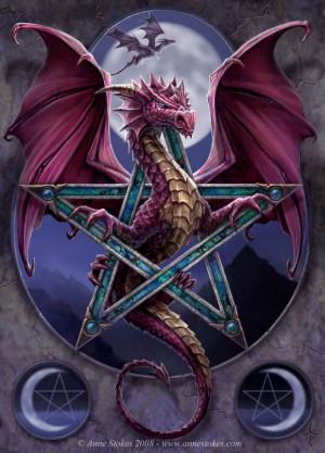 Pagan Dragon Image
