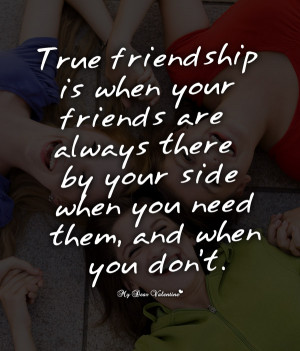 Funny Friendship Picture Quotes - True friendship is
