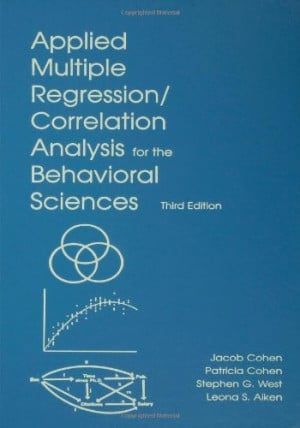 Applied Multiple Regression/Correlation Analysis for the Behavioral ...