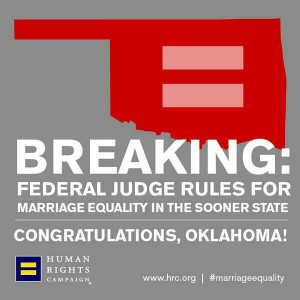 Marriage Equality: Oklahoma