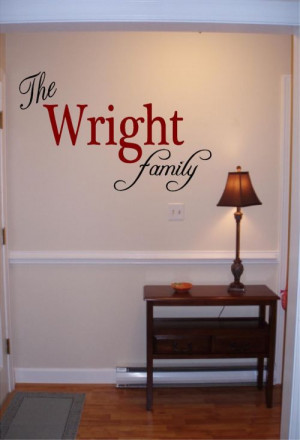 ... stencils and quotes make. Established Name Plaques . Family