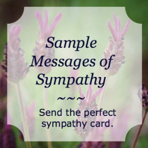 Sympathy Quotes For Loss Of A Child Sample-messages-of-sympathy