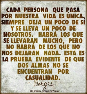 Frase del escritor Jorge Luis Borges