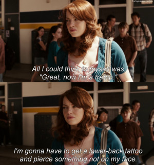 emma stone quotes. quotes, Easy A, Emma Stone