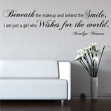 229 results for wall stencils quotes marilyn monroe