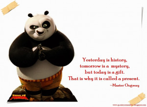 Master Shifu, torturing Po with his kung fu: The true path to victory ...