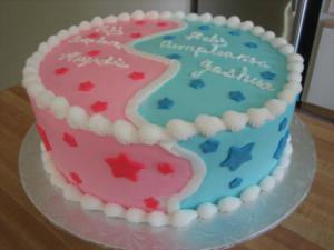 boy-girl cake