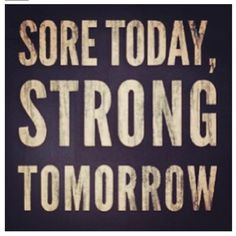 Gonna be so sore tomorrow! Great workout tonight! More