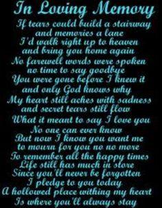 In loving memory of my Grandma Jean, who passed away three years ago ...