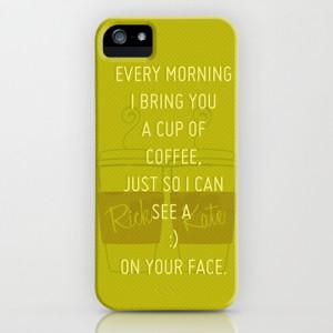 Castle (TV Show) Quotes | Richard Castle iPhone & iPod Case