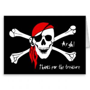 Skull And Cross Bones Cards