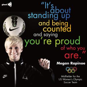 :Out midfielder Megan Rapinoe of the U.S. Women's Olympic Soccer ...