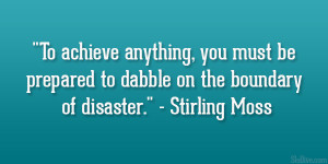 Stirling Moss Quote Moving...