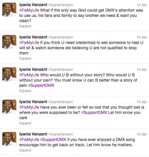 Dmx Quotes About Life Dmx vs iyana: fix my life