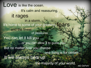 Back > Quotes For > Ocean Quotes About Love