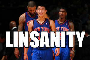 simply can't let the Linsanity pass without getting involved. It ...