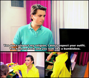 Scott Disick is literally better than all the Kardashians combined.