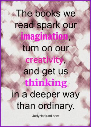 Reading Quotes Imagination. QuotesGram
