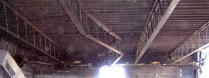Fire Damage To Open Web Steel Joists picture