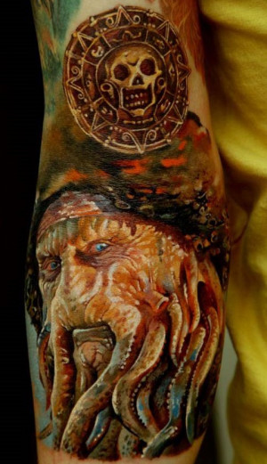 Arrr! The Top 10 'Pirates of the Caribbean' Tattoos, My Matey
