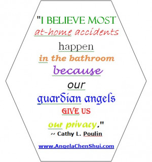 ... Angels – Guardian Angel Quotes and Sayings – Cathy Poulin Quote