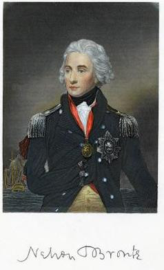 British Admiral Lord Horatio Nelson had lost an arm and an eye prior ...