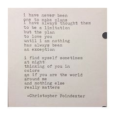 The universe and her, and I poem #78 written By Christopher Poindexter ...