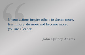 Leadership Is Inspiration