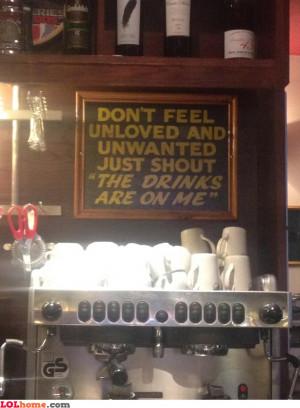 Feeling unwanted?