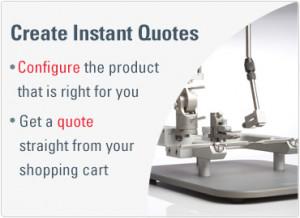 Create Instant Quotes