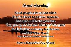 good morning quotes | ... self improving inspiring quotes at 8 11 am ...