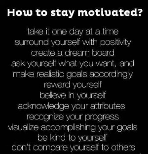 How to stay motivated For more narc recovery please like us and follow ...