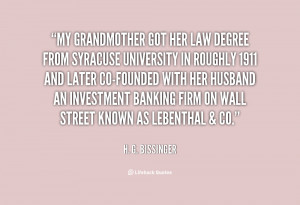 Quotes to My Grandmother