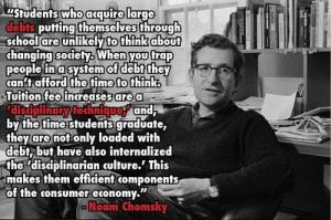 Noam Chomsky quote on