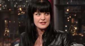 Pauley Perrette Talks about Music, Hair and NCIS on David Letterman