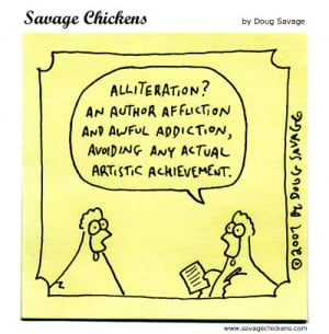 Prompt: Alliteration, Masturbation and Other Literary Terms