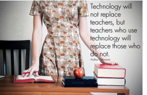 We HAVE to immerse ourselves in the technology that is available to us ...