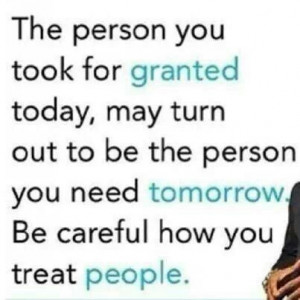 Yes. Don't take anything for granted
