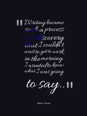 quotes and sayings about writing