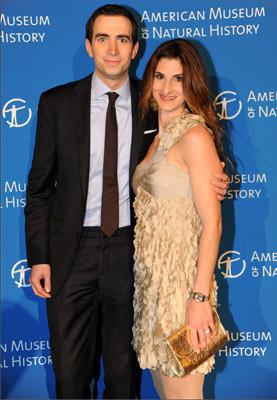 Andrew Ross Sorkin and Pilar Queen