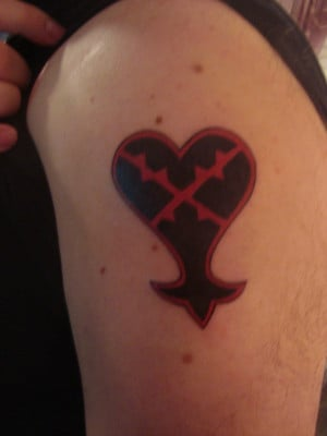 Kingdom Hearts Heartless Tattoo