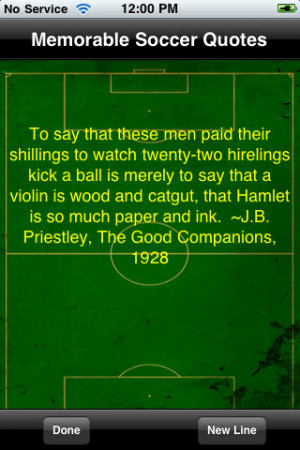 Soccer`s Most Memorable Quotes 1.2