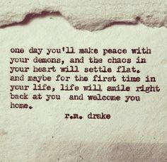 ... peace wisdom plaque favorite quotes rm drake r m drake rm drake one
