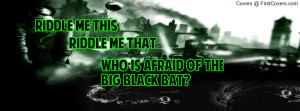 The Riddler Profile Facebook Covers