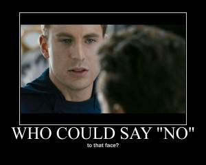 Captain America Motivational Poster by Bloody-Syren